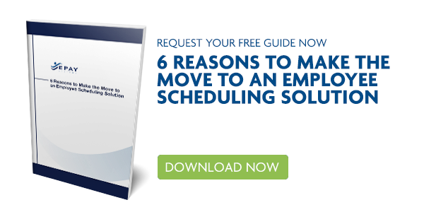 eBook - 6 Reasons to Make the move to an employee scheduling solution